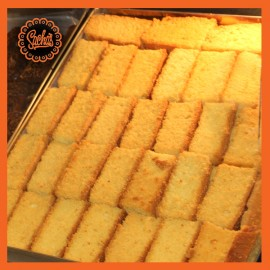 Cake Rusk Biscuit