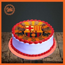 FCB Barcelona Edible Picture Cake