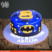 Batman Fondant Theme Cake