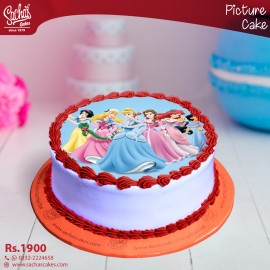 Order Edible Picture Cake In Karachi