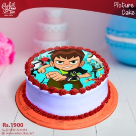 Ben 10 Digital Picture Cake