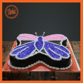 Butterfly Icing Cake