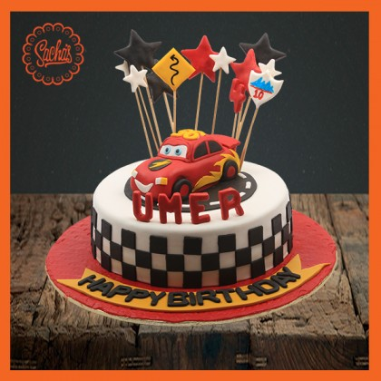 Mcqueen Car Theme Cake Delivery All Over Karachi