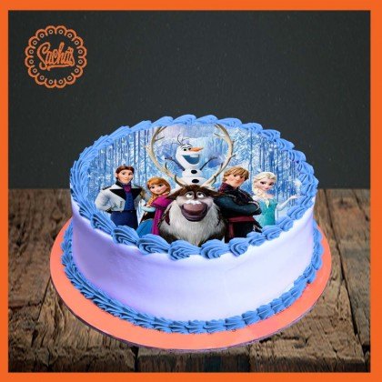 Frozen Picture Cake