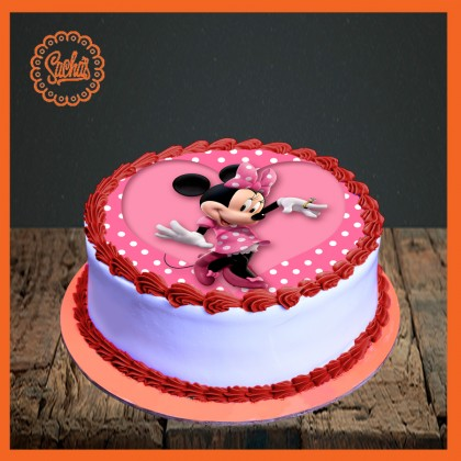 Mini Mouse Picture Cake