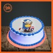 Super Minion Picture Cake