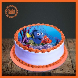 Finding Nemo Picture Cake