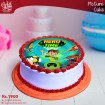 Ben 10 Hero Time Picture Cake