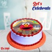 Sesame Street Theme Digital Picture Cake