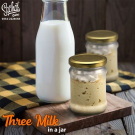Three Milk Cake in a Jar