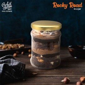 Rocky Road Cake in a Jar