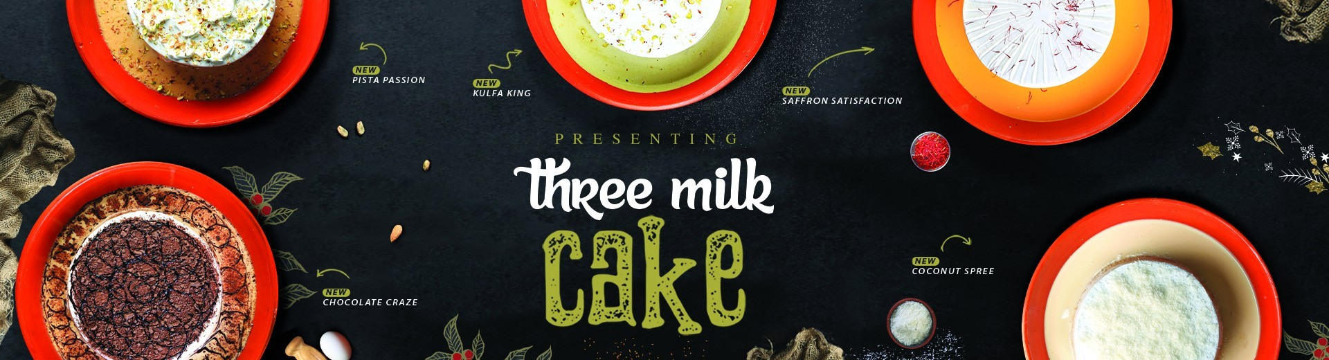 Three Milk Cake